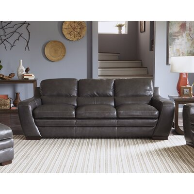 Diedrich Genuine Leather Sofa