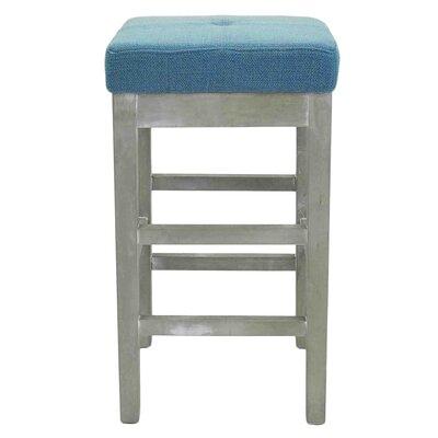 Kimberling 27 Bar Stool Upholstery: Aegean