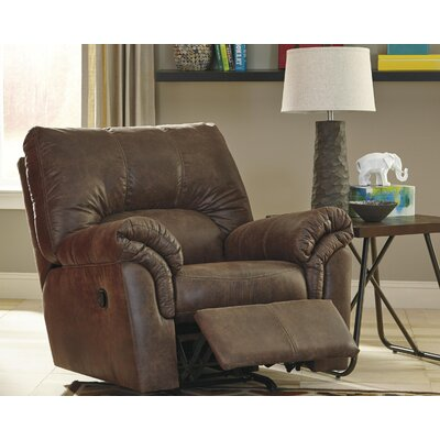 Baronets Manual Rocker Recliner Upholstery: Coffee