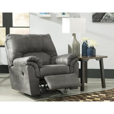 Baronets Manual Rocker Recliner Upholstery: Slate