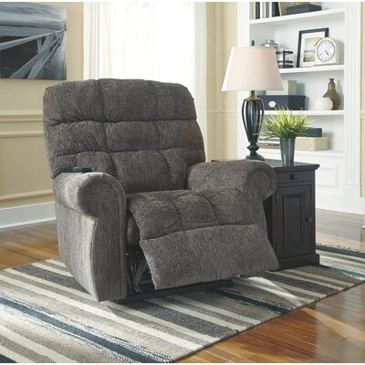 Battersby Power Lift Assist Recliner Upholstery: Slate