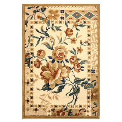 Colena Flower Patch Brown Area Rug Rug Size: Rectangle 2 x 3