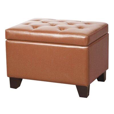 Kimbler Storage Ottoman Upholstery: Pumpkin