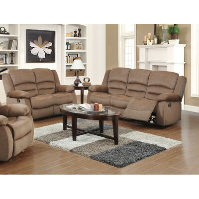 Essex Street 2 Piece Living Room Set Upholstery: Light Brown