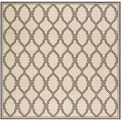 Miesha Contemporary Natural Area Rug Rug Size: Square 67