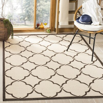 Miesha Natural Area Rug Rug Size: Rectangle 51 x 76