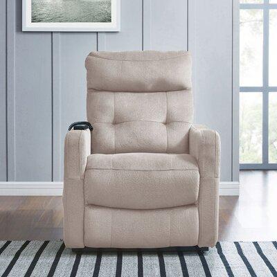 Cerda Power Lift Assist Recliner Upholstery: Platinum