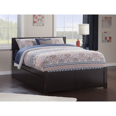 Wrington Storage Platform Bed Color: Espresso, Size: Full