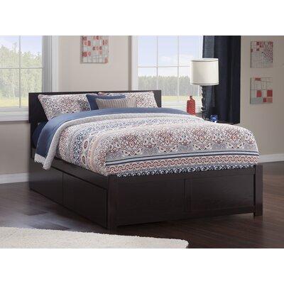Wrington Storage Platform Bed Color: Espresso, Size: Queen