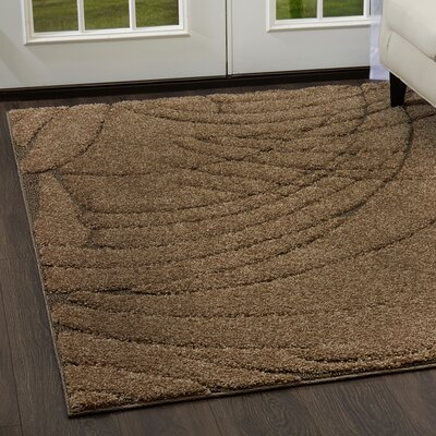 Quince Beige Area Rug Rug Size: 710 x 102