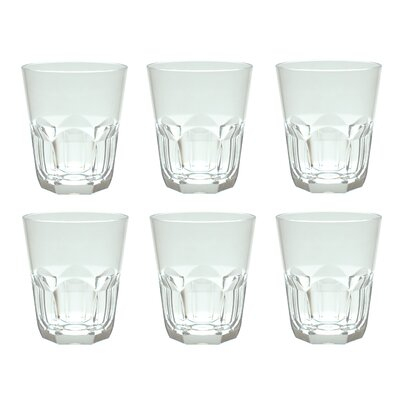Rosaura 15 oz. Plastic/Acrylic Rocks Glass