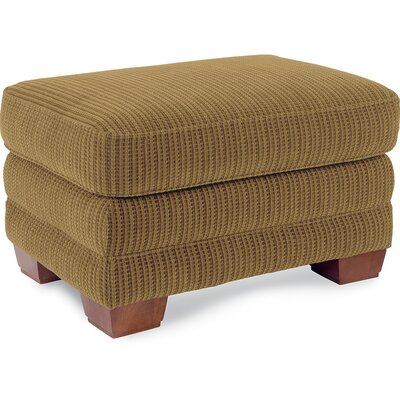 MacKenzie Premier Ottoman Upholstery Color: Wheat