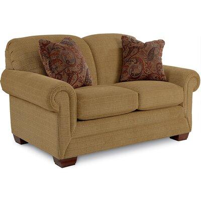 MacKenzie Premier Loveseat Upholstery: Wheat