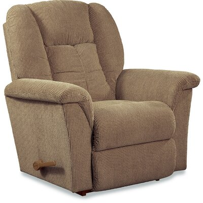 Jasper Rocker�Recliner Upholstery: Brown Sugar