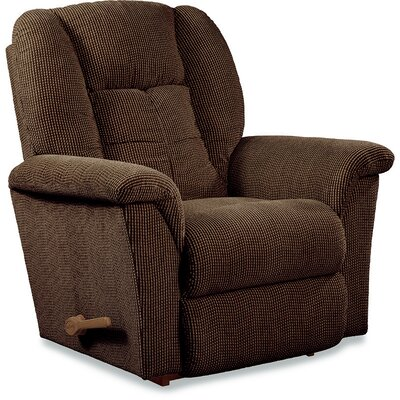 Jasper Recliner Upholstery: Chocolate, Cushion Fill: Polyester, Reclining Type: Manual Recline