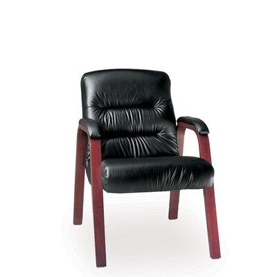 La-Z-Boy Horizon Executive Guest Chair - Upholstery: Cashmere - Acorn Finish: Espresso