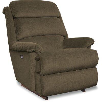 Astor Recliner Upholstery: Mocha, Reclining Type: Power Recline, Motion Type: Wall Hugger