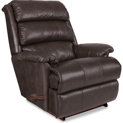 Astor Recliner Upholstery: Burgundy, Reclining Type: Manual, Motion Type: Rocker