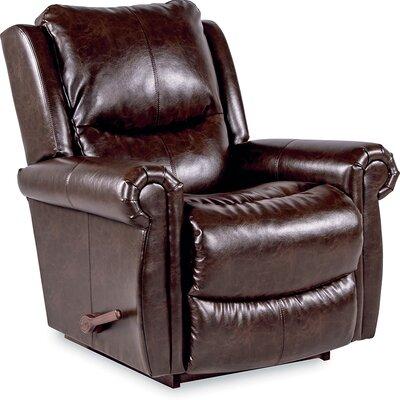 Duncan Rocker Recliner Upholstery: Saddle