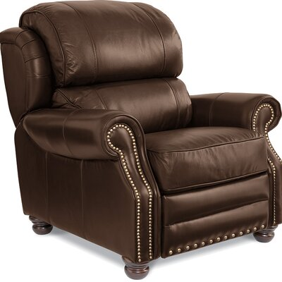 Jamison Leather Manual Recliner