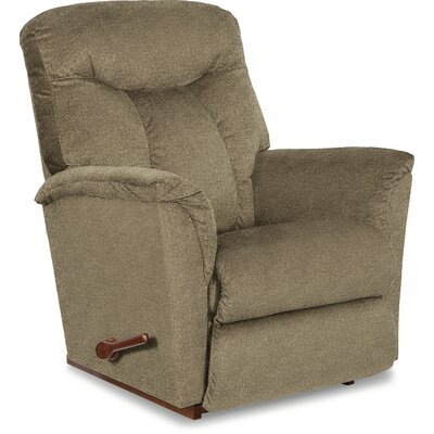 Fortune Rocker Recliner Reclining Type: Manual Recline, Upholstery: Brown Sugar