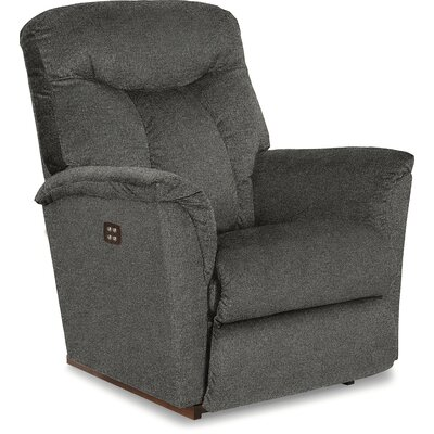 Fortune Rocker Recliner Reclining Type: Power-Button, Upholstery: Graphite