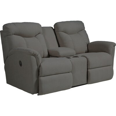 Fortune Full Reclining Sofa with Console Type: Manual