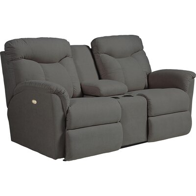 Fortune Full Reclining Sofa with Console Type: Power