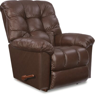 Gibson Reclina-Rocker Recliner Upholstery Color: Cocoa