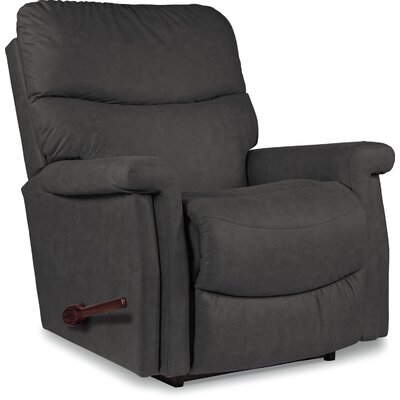 Baylor XR Reclina-Rocker� Recliner Upholstery: Smoke, Reclining Type: Manual Recline