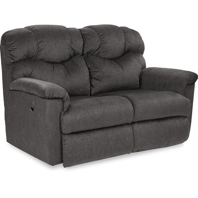 Lancer La-Z-Time Reclining Loveseat Cushion Fill: Polyurethane Foam