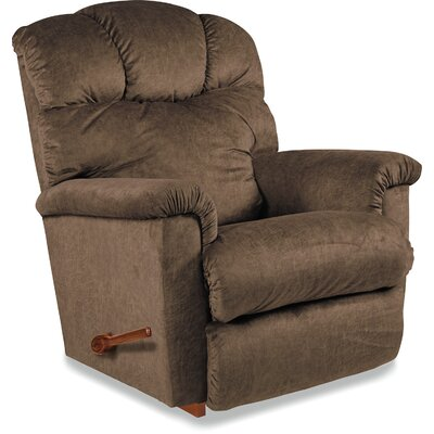 Lancer Recliner Upholstery: Brown, Reclining Type: Manual Recline-Handle/Lever, Motion Type: Rocker
