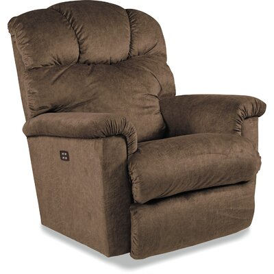 Lancer Recliner Reclining Type: Manual Recline, Upholstery: Gray, Motion Type: Rocker