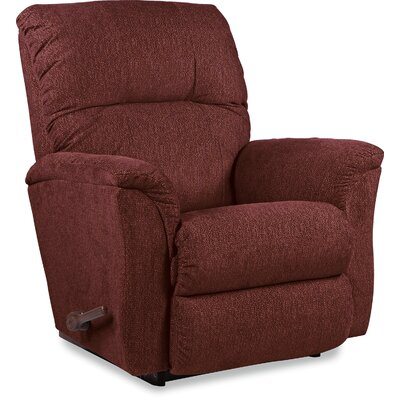 Gabe Recliner Upholstery: Chili, Reclining Type: Manual, Motion Type: Rocker