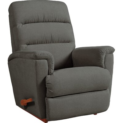 Tripoli Manual Rocker Recliner Upholstery: Slate