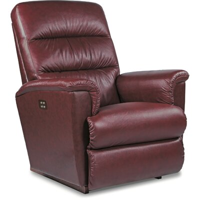 Tripoli Leather Power Wall Hugger Recliner