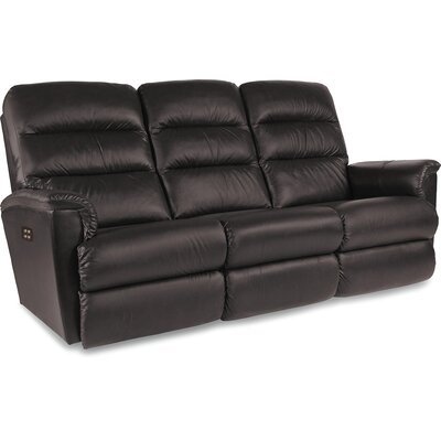Tripoli Leather Reclining Sofa Type: Power