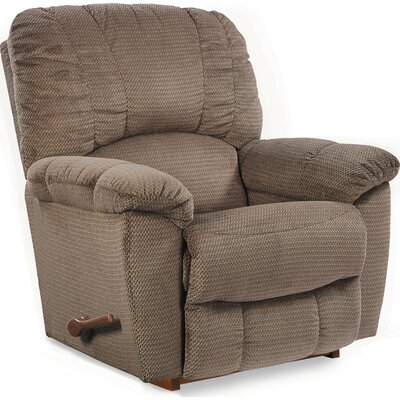 Hayes Rocker Recliner Reclining Type: Manual, Upholstery: Mushroom