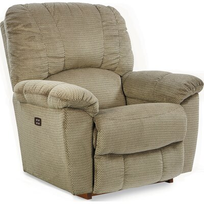 Hayes Rocker Recliner Reclining Type: Power-Button, Upholstery: Herb