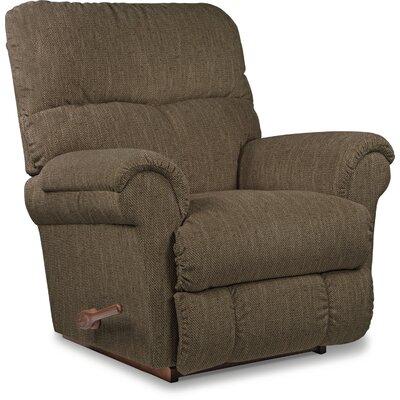 Sheldon XR Reclina-Rocker� Recliner Upholstery: Cedar Brown, Reclining Type: Manual Recline, Motion Type: Rocker