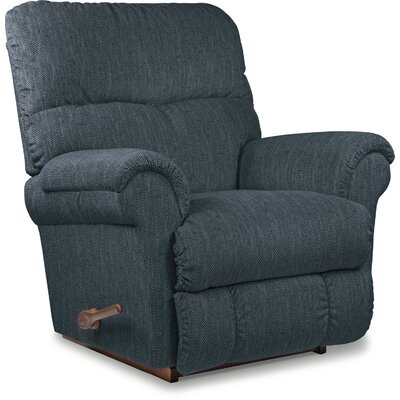 Sheldon XR Reclina-Rocker� Recliner Reclining Type: Manual Recline, Upholstery: Petrol, Motion Type: Wall Hugger