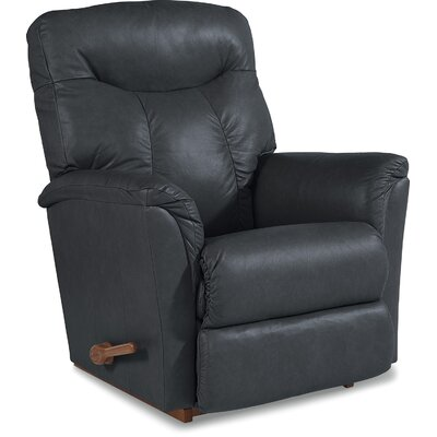 Fortune Reclina-Rocker� Recliner Upholstery: Ink, Reclining Type: Manual Recline
