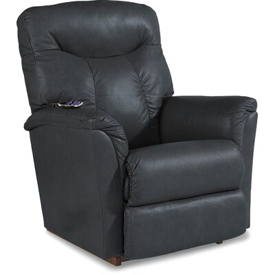 Fortune Reclina-Rocker� Recliner Upholstery: Ink, Reclining Type: Power Recline