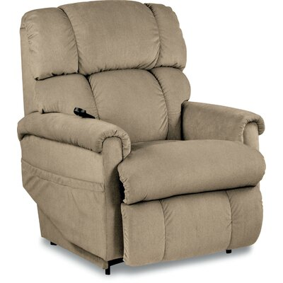 Pinnacle Luxury Lift Power Recliner Upholstery: Linen
