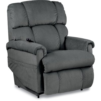 Pinnacle Luxury Lift Power Recliner Upholstery: Slate Gray