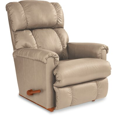 Pinnacle Rocker Recliner Upholstery: Sand, Reclining Type: Power-Button, Motion Type: Wall Hugger
