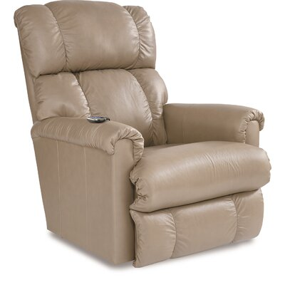 Pinnacle Rocker Recliner Color: Brown, Reclining Type: Manual Recline, Upholstery: Red