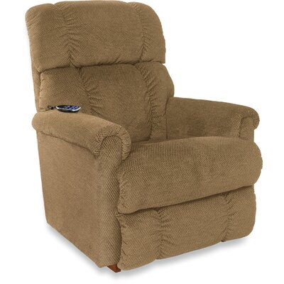 Pinnacle Reclina Rocker Recliner Upholstery: Brown Sugar, Frame Finish: Brown, Type: Power