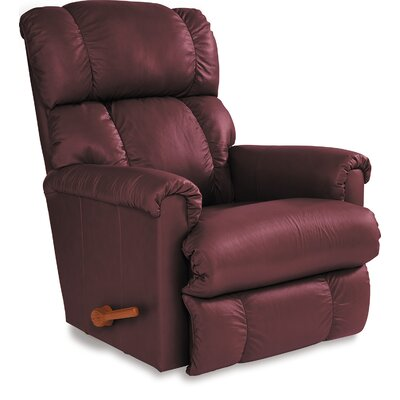 Pinnacle Manual Wall Hugger Recliner Upholstery: Merlot