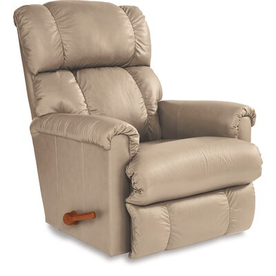 Pinnacle Leather Recliner Upholstery: Sand